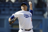 Los Angeles Dodgers starting pitcher Hyun-Jin Ryu throws to a Colorado Rockies batter during the second inning of a baseball game Saturday, June 22, 2019, in Los Angeles. (AP Photo/Marcio Jose Sanchez)