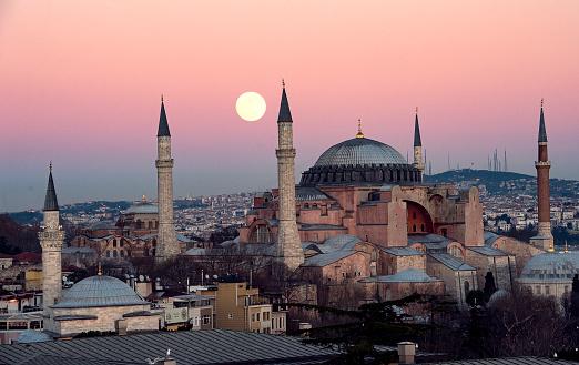 터키 최대 도시, 이스탄불 전경. 매일신문 DB