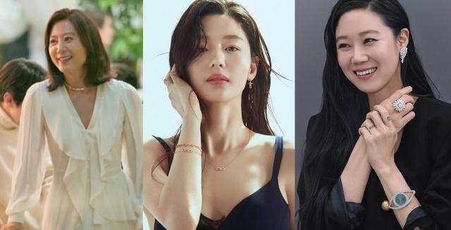 [패션 PICK] '김희애·전지현·공효진' 주얼리 스타일 주목
