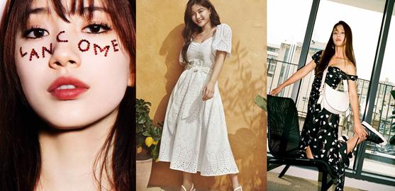[패션 PICK] 화보 속 ★들의 패션뷰티룩…'수지·김유정·기은세' 주목
