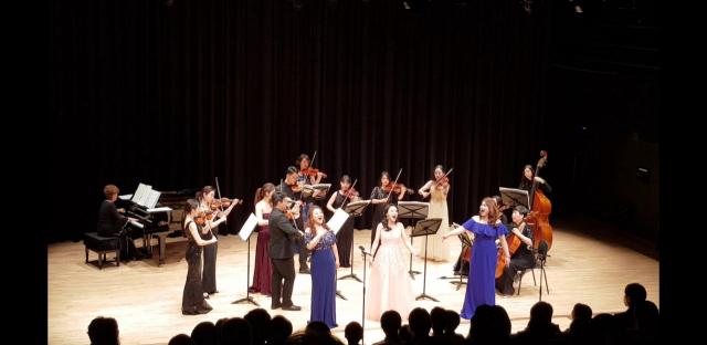 18일 공연할 소프라디바의 연주 모습. 대구음악협회 제공