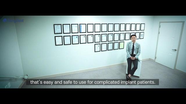 임플란트 시술기구 개발업체 써지덴트 홍보영상. 대구시 제공