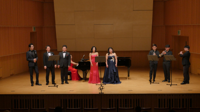 지난해 9월 26일 열렸던 대구음협과 제주음협 간 교류음악회.