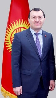 클르츠벡 술탄(43) 한국 주재 키르기스스탄 대사. 한국 주재 키르기스스탄 대사관