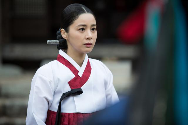 서영희(신씨부인), 영화 '여곡성' 등장 장면. 배급사 제공