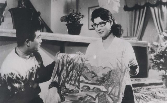 신성일과 엄앵란의 '가정교사'(1963). 네이버 영화
