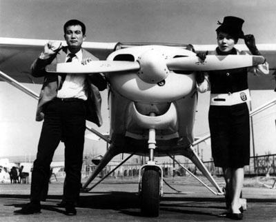 신성일의 대표작이지만 엄앵란의 대표작이기도 한 '맨발의 청춘'(1964). 네이버 영화