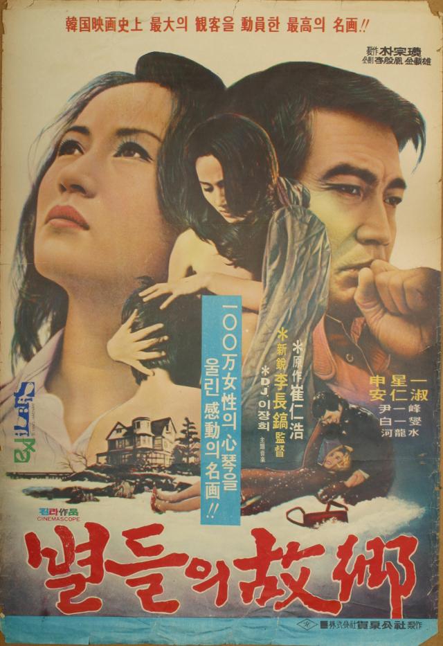 영화 별들의 고향(1974) 포스터. 매일신문DB