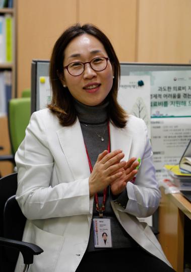 배주경 칠곡 경북대병원 의료사회복지사. 우태욱 기자 woo@imaeil.com