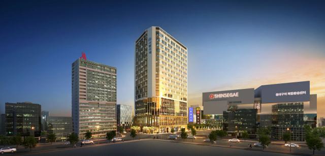 동대구고속터미널 이전터의 첫 개발사업으로 '동대구역 아펠리체'가 오는 8일 공개된다. 삼도주택 제공.
