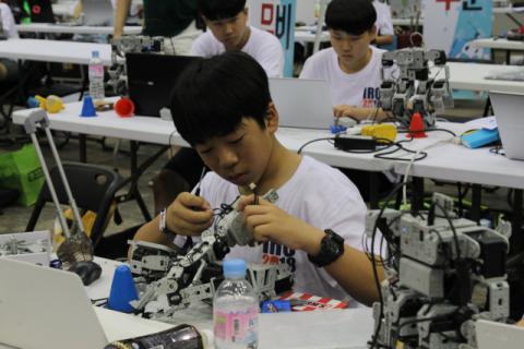 대구시는 올 연말까지 국제로봇올림피아드 등 다양한 로봇 관련 행사를 개최한다. 대구시 제공.