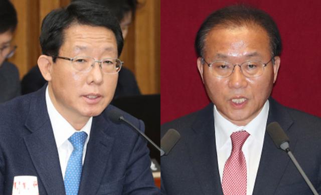 (왼쪽부터)김상훈, 윤재옥