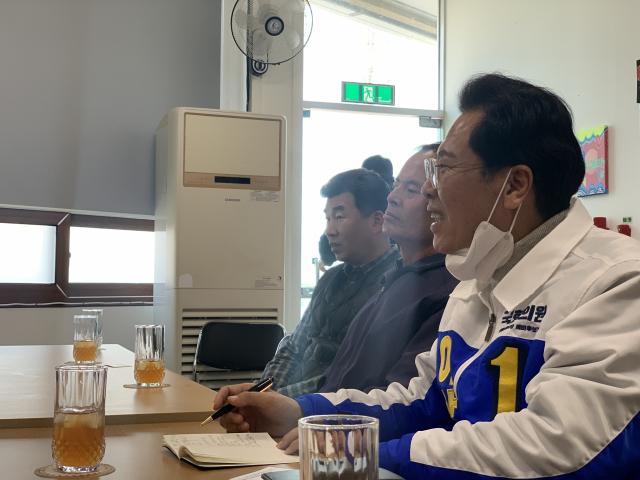 지난달 31일 이삼걸 더불어민주당 후보는 경북지적발달장애인복지협회 예천군지부를 방문, 현장의 목소리를 청취하는 시간을 가졌다. 홍준표 기자