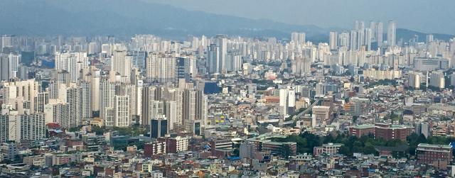 사진은 대구시 아파트 모습. 매일신문DB