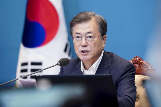 문재인 대통령. 자료 사진. 연합뉴스