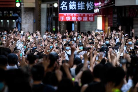 대만 안되니 홍콩에다…中 홍콩 교사·공무원 임용에 '국가보안법' 과목 도입 논의