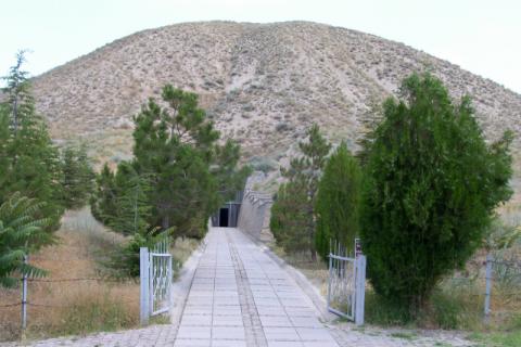터키 고르디온의 쿠르간. 미다스 왕의 무덤으로 알려졌다. 계명대 실크로드중앙아시아연구원 제공