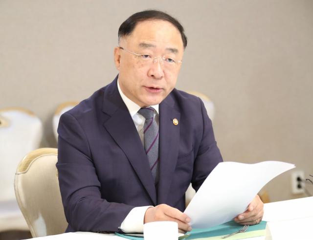 홍남기 경제부총리 겸 기획재정부 장관. 자료사진. 연합뉴스
