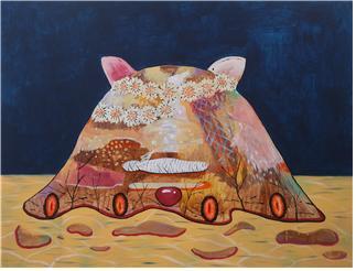 이민주 작 '고양이 무덤'