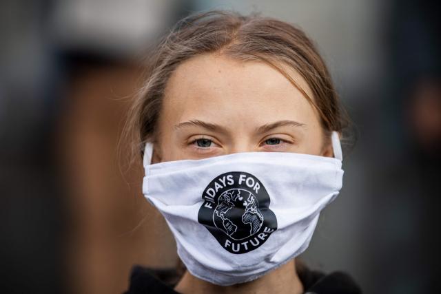 스웨덴의 환경운동가 그레타 툰베리. 연합뉴스