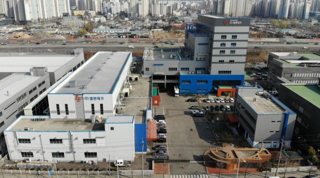 대구 달서구 성서4차산업단지에 있는 엘앤에프 본사 전경. 매일신문DB