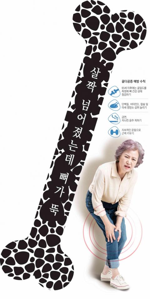 [건강 플러스]노인성 질환 시리즈③-골다공증성 골절