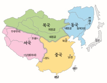 동국 역사공동체 예맥·선비·숙신