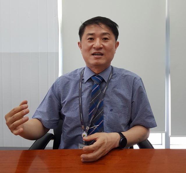황인수 퓨전소프트 대표. 채원영 기자