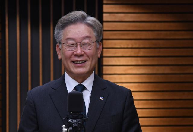 제20대 대통령선거 더불어민주당 예비후보자인 이재명 경기도지사. 연합뉴스