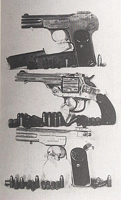 하얼빈역에서 이토 히로부미 저격에 사용한 권총.