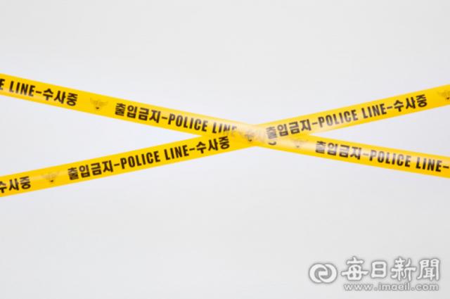 사건 현장 폴리스라인 자료사진 매일신문DB
