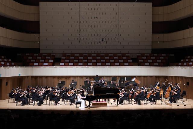 8월 5일 '마티네 콘서트'을 갖는 대구시립교향악단의 공연 모습. 대구콘서트하우스 제공