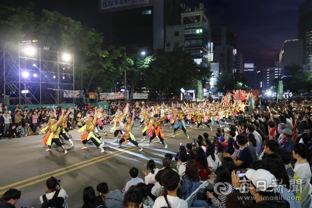 '2019 대구컬러풀페스티벌' 거리 퍼레이드 장면. 대구문화재단 제공
