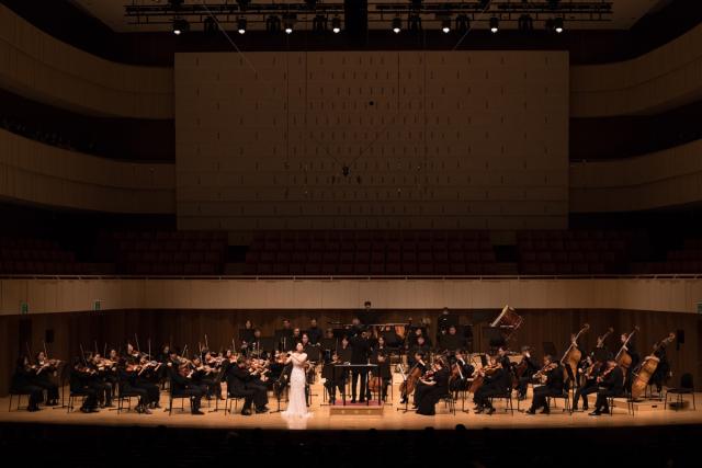 제19회 대학생 협주곡의 밤 공연 모습. 대구콘서트하우스 제공