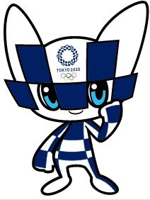 도쿄올림픽 공식 마스코트 '미라이토와'. 도쿄올림픽 공식 홈페이지