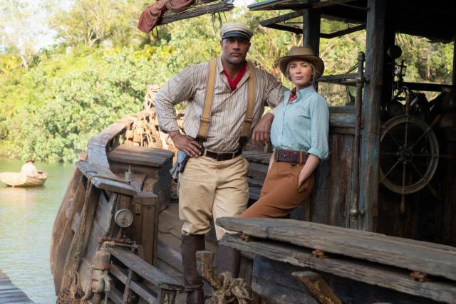 영화 '정글 크루즈'의 한 장면