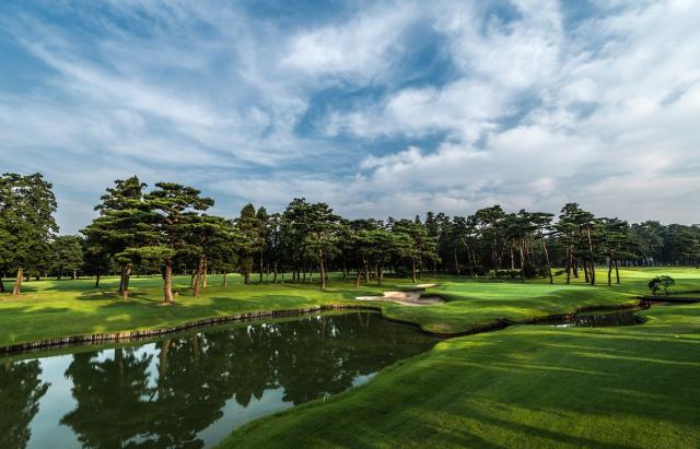 도쿄올림픽 골프가 열리는 일본의 가스미가세키 컨트리클럽 전경. 자료=가스미가세키 컨트리클럽 홈페이지