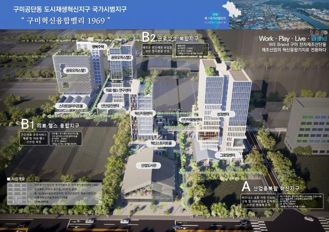 경북 구미국가산업단지 1공단 도시재생혁신지구 국기시범지구