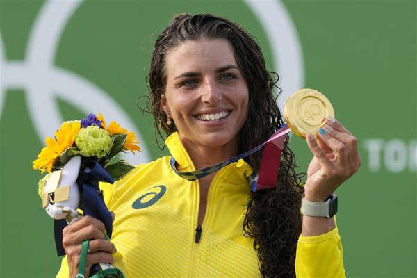 호주 여자 카누선수 제시카 폭스. AP연합뉴스