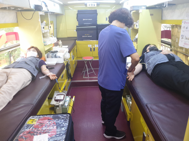 대구금호서희스타힐스 사랑의 헌혈 행사
