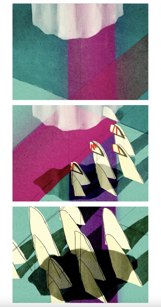 이요한 작 '이미 보았다는 느낌' Pigment print, 42x59.4cm(each) 2021년