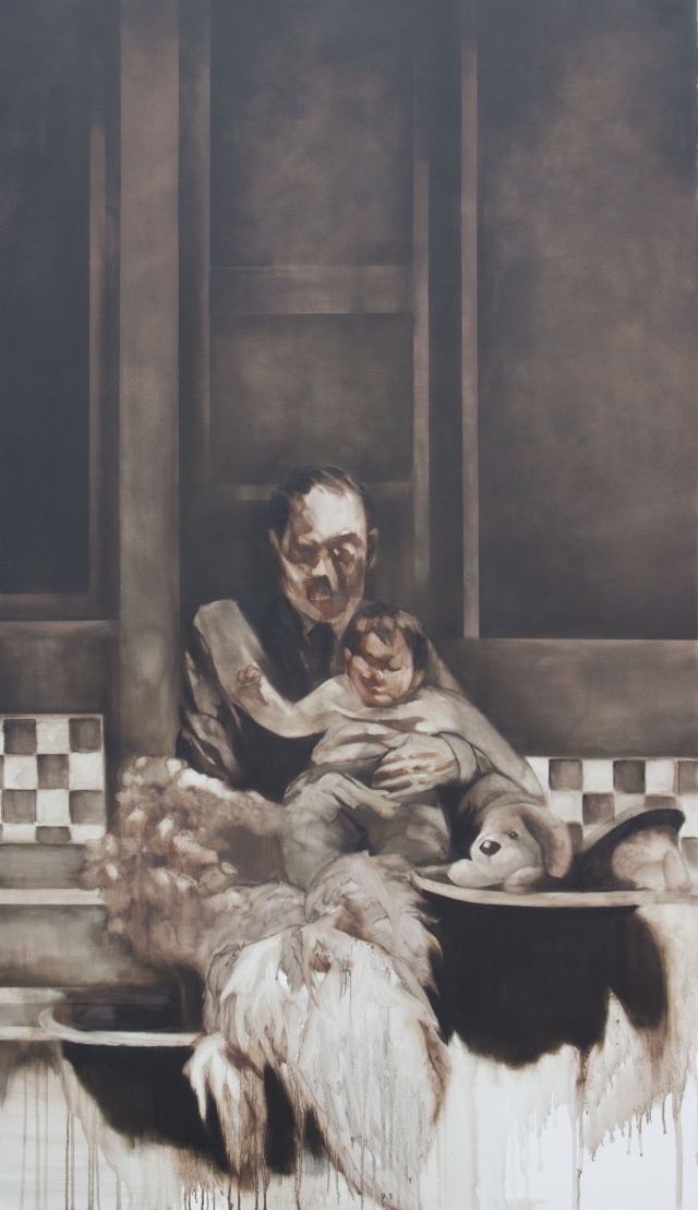 미소 작 '대현동 464-24' Oil on canvas, 193.3x112.1cm 2021년