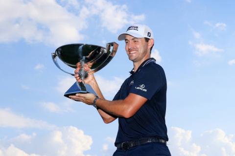 캔틀레이, PGA 챔피언십  우승…175억원 보너스