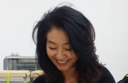 배우 김부선. 김부선 페이스북