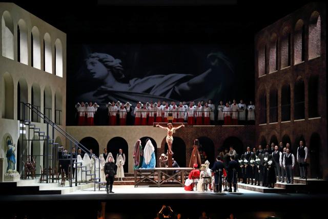 제18회 대구국제오페라축제가 오는 10일 개막한다. 사진은 개막작인 푸치니의 오페라 '토스카' 공연 장면. 대구오페라하우스 제공