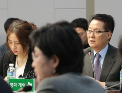 조성은, 박지원 국정원장. 자료사진. 연합뉴스