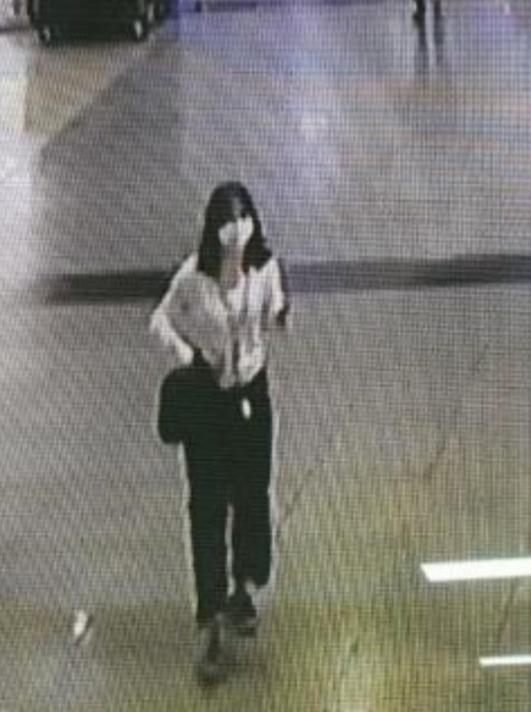 전남 영광 실종 이한비(17) 양 사진. 실종 당시 모습이다. 전남경찰청