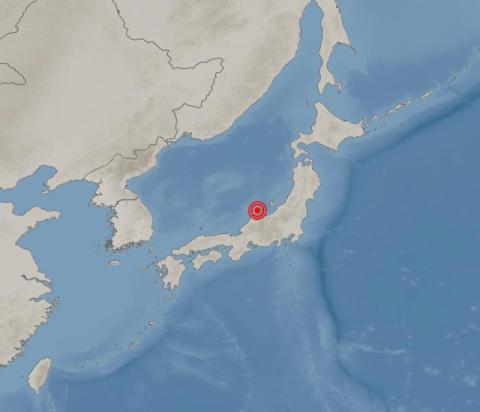 [속보] 일본 도야마현 규모 5.2 지진