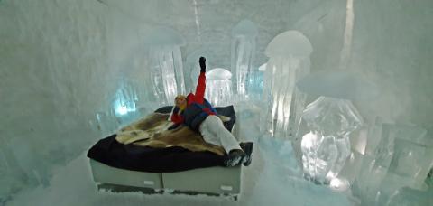[북극을 가다] 동화 속 얼음왕국 같은 세계 첫 얼음호텔