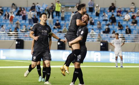 대구FC, 울산현대에 2대1 역전승…리그 3위에 올라서